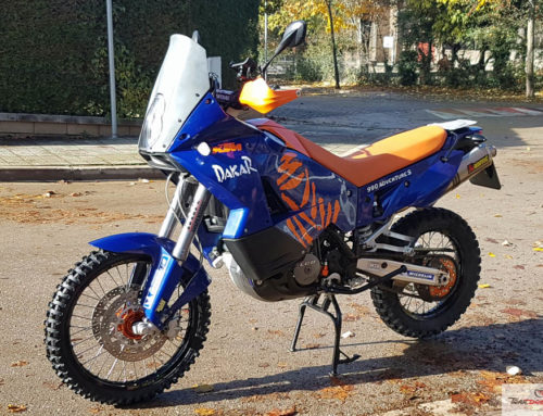 KTM 990 Adventure S: Primeras modificaciones